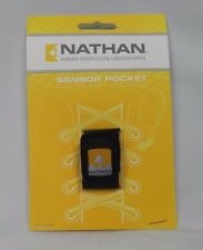 NEW Nathan Nike + iPod Sensor Pocket Black Reflective Water Resistant