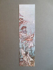 Vintage BOOKMARK Elgin Court ARTHUR RACKHAM Fairies of the Serpentine Peter Pan