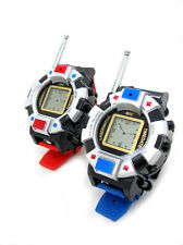 TWO WAY RADIO KIDS WALKY TALKY WRISTLINX 2 WRIST WATCH TOY SPY 007 GADGETS CHILD