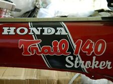 CT70 HONDA Stroker decal for 108 stroker bike or bigger 140 150 160cc engine