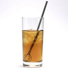 New, Quality Norpro Stainless Steel Cocktail Iced Tea Drink Whisk Stirrer