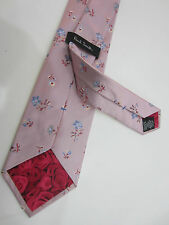 "Paul Smith ""MAINLINE"" Floral Classic Tie 100% Silk Woven - Made in Italy BNWT"