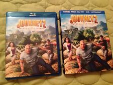 JOURNEY 2: THE MYSTERIOUS ISLAND BLU-RAY + DVD 2012 MOVIE