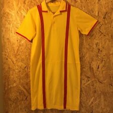 waitress dress t shirt. 2 broke girls diner dress up vintage tennis yellow retro