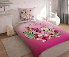 Bedding Set My Little Pony LICENSED 100%Cotton,UK Store,Pinkie Pie,Fluttershy