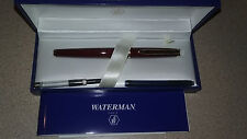 waterman paris fountain pen RED  marble NEW,  HEMISPHERE