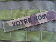 Bande patronymique CAMO CENTRE EUROPE - VELCRO TAP ISAF