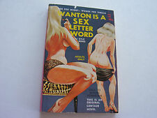 WANTON IS A SEX LETTER WORD  1965   KYLE BOND   INCREDIBLE NUDE COVER  NEAR FINE