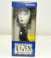 Accoutrements RAVEN THE NODDING GOTH GIRL Bobble head NIB