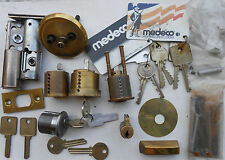 Medeco   High Security   Locks, parts... Locksmith, Practise, students...