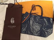 Authentic Brand New Goyard Saint Louis PM Tote Blue: Perfect Holiday Gift