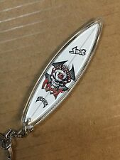 Lost Surfboard Keychain Lost Enterprises Surf