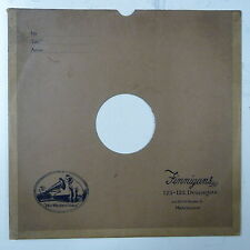 """78rpm 12"""" gramophone record sleeve FINNIGANS , MANCHESTER"""
