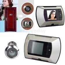 """2.4"""" HD screen Door Viewer Cat Eye Wide Angle Doorbell Recorder Peephole Viewer"""