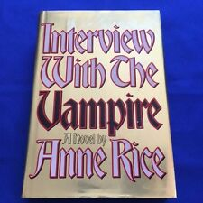 INTERVIEW WITH THE VAMPIRE - FIRST EDITION BY ANNE RICE