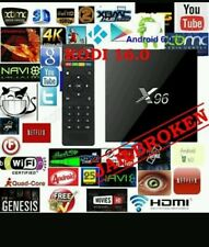 LATEST X96 ANDROID 6.0 BOX! QUADCORE KODI PLUS SHOWBOX MOBDRO XXX SPORTS