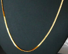 indian gold plated  long curb twist chain ethnic jewelry u1i