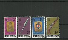 ST HELENA -SG285-288-MILITARY EQUIPMENT 3RD ISSUE -MNH