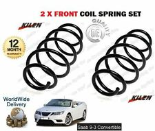 FOR SAAB 9-3 93 CABRIO 1.8 2.0 TURBO 2003-  NEW 2 x FRONT COIL SPRING SET