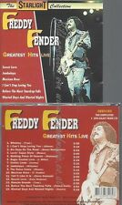 CD--FREDDY FENDER--GREATEST HITS-LIVE