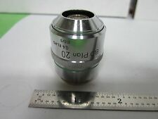 NIKON BD PLAN 20X OBJECTIVE MICROSCOPE OPTICS  BIN#F2-64