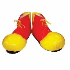 Clown Shoe Covers Adults Fancy Dress Costume Accessory Circus Unisex - Halloween
