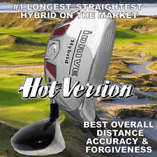 IDRIVE ILLEGAL DISTANCE GOLF HYBRID IRONS -YOUR CHOICE1 2 3 4 5 6 7 8 9 PW SW LW
