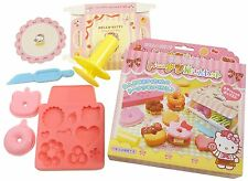 HELLO KITTY donuts doughnut shop Making Kit Craft Kit Set mold Playset Toy Japan