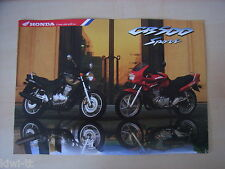 Honda CB500, CB500S Sport (G-Typ), Prospekt / Brochure / Depliant, D, 10.1997
