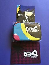 Persona Q: Shadow of the Labyrinth 3DS XL Carrying Case + Artbook + CD *NO* Game