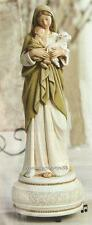 """Musical Figurine L'Innocence by Bouguereau 9"""" Boxed Plays: Brahams Lullaby NEW"""