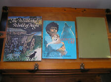 Vintage Lot of Outdoor Nature Fiction HOSIE'S AVIARY Coyote Cry Hardcover Books
