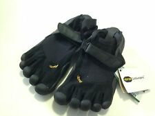 VIBRAM FIVEFINGERS WOMENS Black Sprint Water Training Shoes 6 NEW