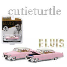Greenlight 1955 Cadillac Fleetwood Series 60 1:64 Elvis Presley 44740 C Pink