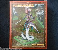 2002 Chaos Lord of Slaanesh on Daemonic Mount Citadel Demon Mounted Champion MIB