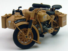 1/24 Atlas 1939-1945 BMW R75 Motorcycle with sidecar combination Yellow
