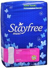 STAYFREE Maxi Pads Super 24 Each (Pack of 6)