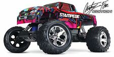 Traxxas - Courtney Force Edition Stampede 2wd Monster Truck