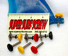 "Stand Up Paddle SUP & Surfboard Fin Screw System by ""Super Surf Screw"""