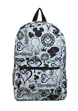 Disney Kingdom Hearts Icons Backpack School Book Bag Gift New With Tags!