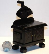 Dollhouse Miniature Old Fashion Cook Stove Kitchen 1:12 one inch scale  D55