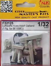 CMK F32125 Luftwaffe Ace A. Galland for Bf109E Resin Figur in 1:35