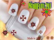 "RTG Set#586 IMAGE ""Resident Evil"" WaterSlide Decals Nail Art Transfers Salon"