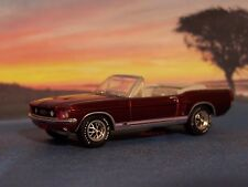 1967 67 FORD MUSTANG GT CONVERTIBLE 1/64 SCALE DIECAST COLLECTIBLE DIORAMA MODEL
