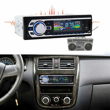 Universal Car Interior In-Dash Stereo Audio Receiver FM Aux Input SD USB MP3