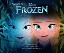 DISNEY'S THE ART OF FROZEN Charles Solomon NEW book animation concept scripts