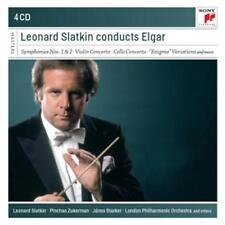 Slatkin,Leonard - Leonard Slatkin conducts Elgar