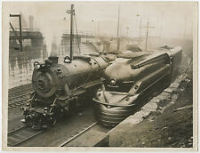 TRAINS STEAM ENGINE STREAMLINED LOCOMOTIVE PA RAILROAD 8X10 PHOTO REPRINT ONLY
