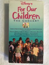 For Our Children: The Concert (NEW SEALED VHS, 1993) RARE HTF
