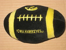 UNIVERSITY OF IOWA HAWKEYES PLUSH COLLECTIBLE FOOTBALL (Buy 2 get 1 Free)